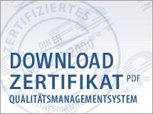Certificado de seguridad METLOC